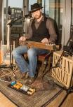 Brian Sydney speelde blues